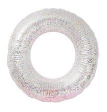 Inflatable swim ring: Glitter