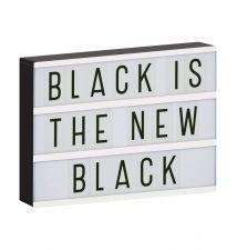 lightbox a4 zwart