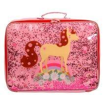 Koffer: Glitter - paard