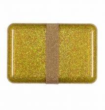 Lunch box: Glitter - goud
