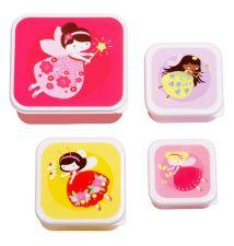 Kinder lunch box set snack box broodtrommel lunchset doosjes A Little Lovely Company
