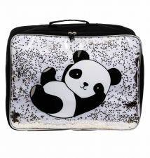 Koffer: Glitter - panda