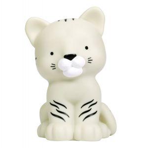 Little light: Witte tijger | Kinderlampen | A Little Lovely Company