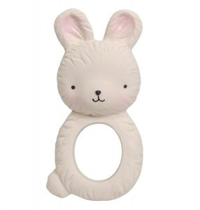 teething ring bunny side view