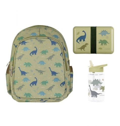 School set: Rugzak - Dinosaurussen