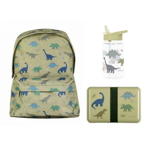 School set: Rugzakje - Dinosaurussen