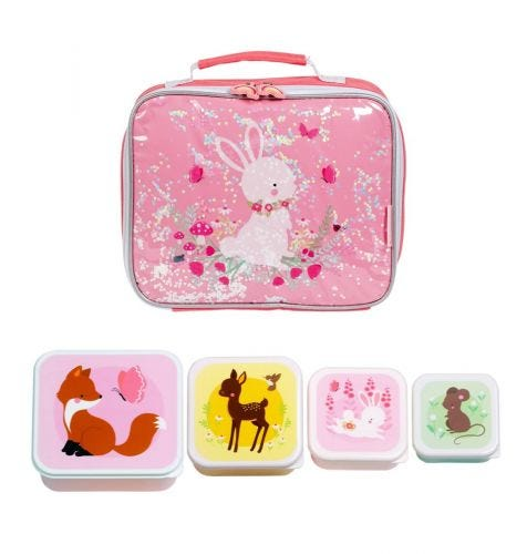 School set lunch koeltas schoolset back to school kids kinder peuter A Little Lovely Company