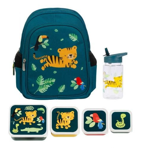 School set lunch schoolset back to school kids kinder peuter A Little Lovely Company