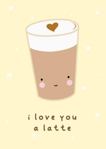 Kaartje latte love