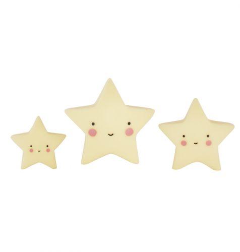 Mini's: Sterren - geel