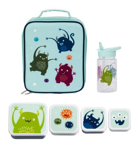 School set lunch schoolset koeltas back to school kids kinder peuter A Little Lovely Company