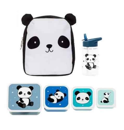 School set: Rugzakje - Panda