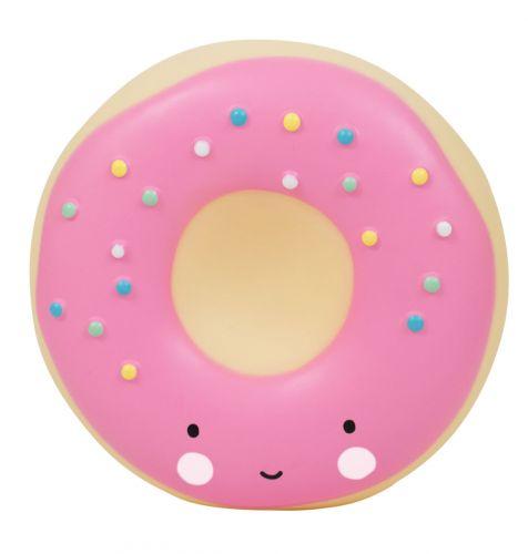 Spaarpot: Donut - roze