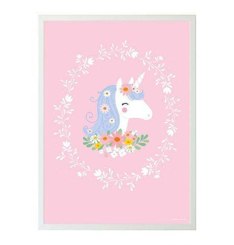 Poster lovely unicorn