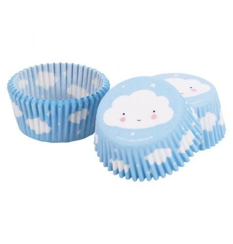 blue cupcake case cloud