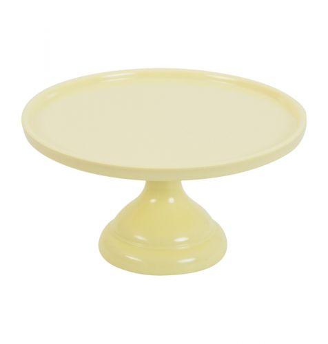 cake stand yellow
