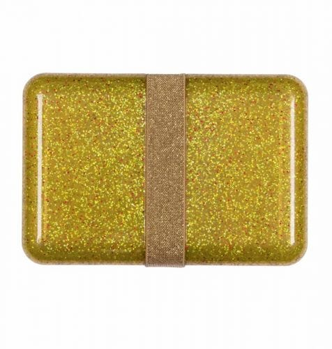 Lunch box: Glitter - goud
