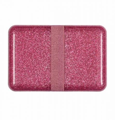 Lunch box: Glitter - roze