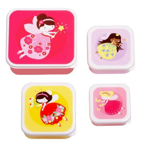 Kinder lunch box set snack box broodtrommel lunchset doosjes A Little Lovely Company