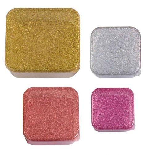 Lunch & snack box set: Gold blush