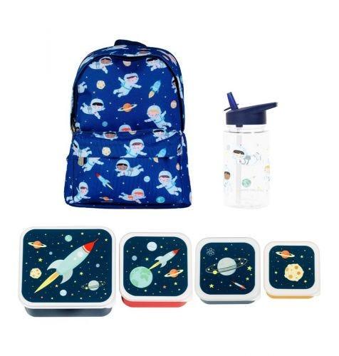School set: Rugzakje - Astronauten