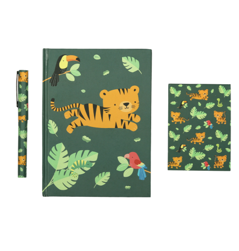 Stationery set: Jungle tijger