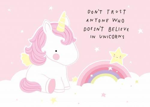 Kaartje trust unicorn