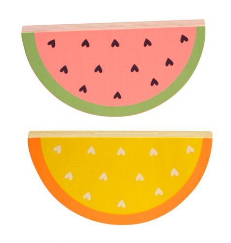 Blokjes: Watermeloen