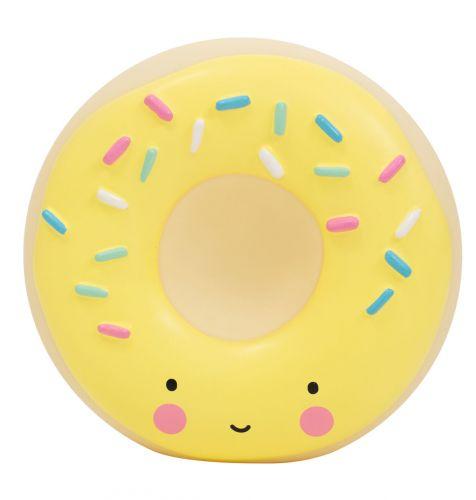 Spaarpot: Donut - geel