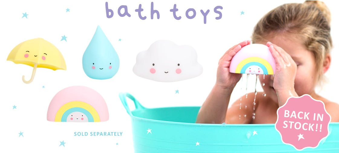Little Lovely bath toys