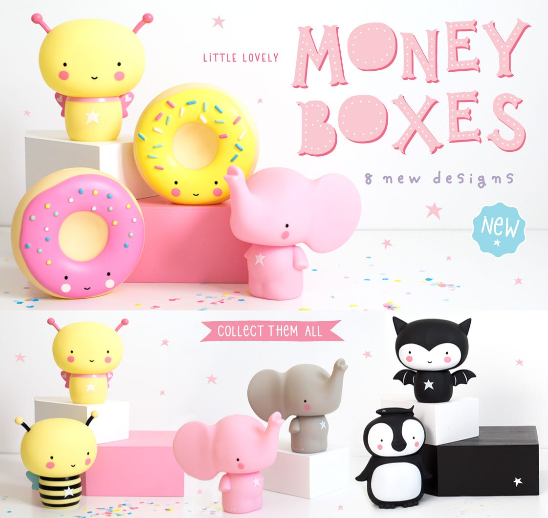 Little lovely Money boxes